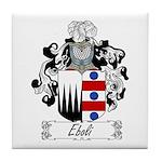 Eboli Family Crest Tile Coaster