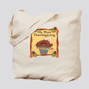 1st Thanksgiving Turkey Tote Bag
