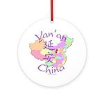 Yan'an China Ornament (Round)
