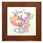 Yan'an China Framed Tile