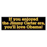 Obama Jimmy Carter Bumper Sticker