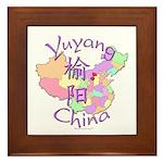 Yuyang China Framed Tile