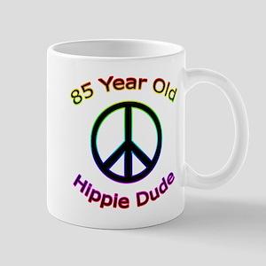 Hippie Dude 85th Birthday Mug