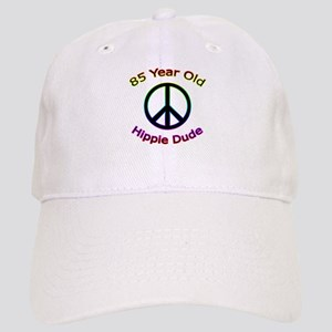 Hippie Dude 85th Birthday Cap