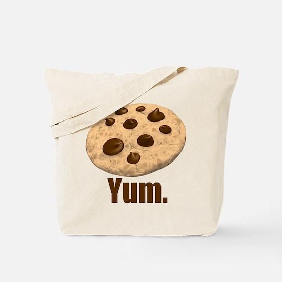 Yum. Cookie Tote Bag