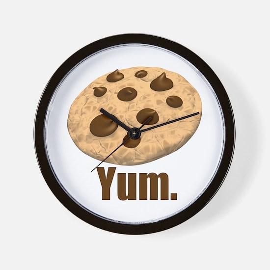 Yum. Cookie Wall Clock