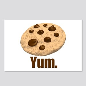 Yum. Cookie Postcards (Package of 8)