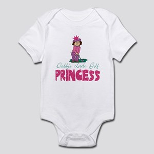 Daddy's Little Golf Princess Baby Infant Bodysuit