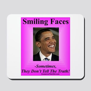 """Smiling Faces"" Mousepad"