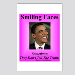 """Smiling Faces"" Postcards (Package of 8)"