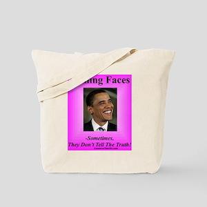 """Smiling Faces"" Tote Bag"