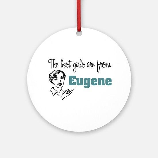 Best Girls Eugene Keepsake (Round)