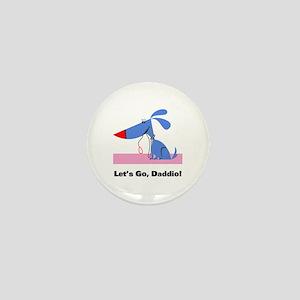 Dog Walker Mini Button