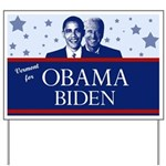 Vermont for Obama Yard Sign