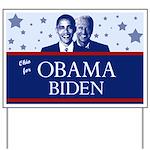 Ohio for Obama Yard Sign