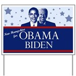 New Hampshire for Obama Yard Sign