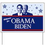 Arkansas for Obama Yard Sign