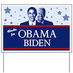 Alaska for ObamaYard Sign