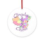 Qingdao China Ornament (Round)