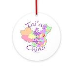 Tai'an Ornament (Round)