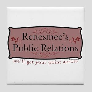 Renesmee's Public Relations Tile Coaster