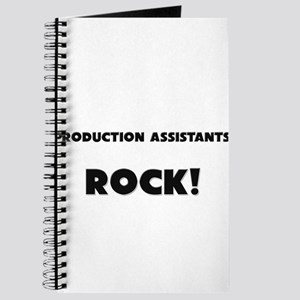 Production Assistants ROCK Journal