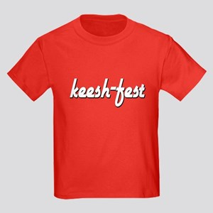 Keesh-fest/Keesh-dog Kids Dark T-Shirt