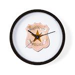 Salt Lake City Police Wall Clock