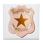 Salt Lake City Police Tile Coaster