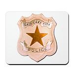 Salt Lake City Police Mousepad