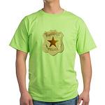 Salt Lake City Police Green T-Shirt