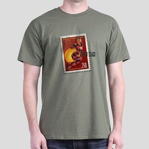 Halloween Jester Stamp Dark T-Shirt
