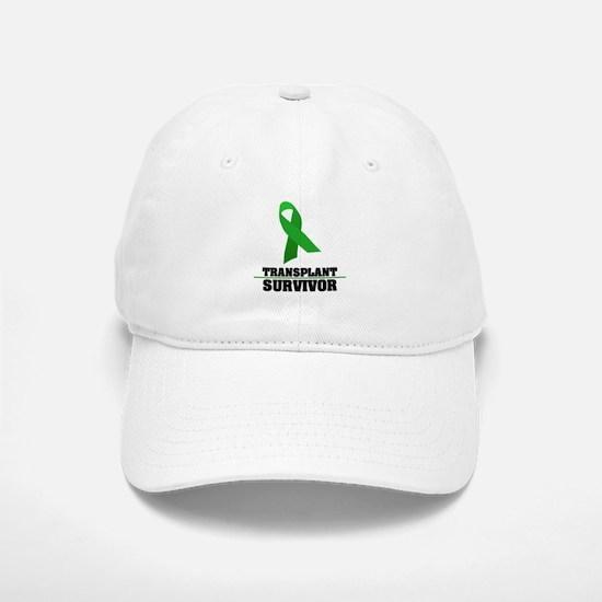 Transplant Survivor Baseball Baseball Cap