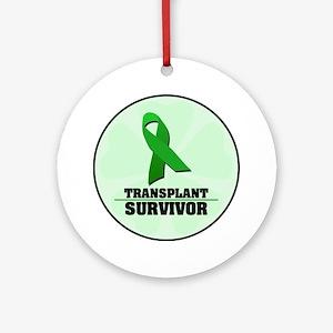 Transplant Survivor Ornament (Round)
