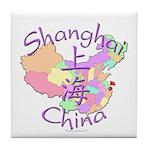 Shanghai China Tile Coaster