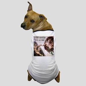 Creation of Adam Dog T-Shirt