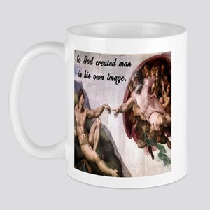 Creation of Adam Mug