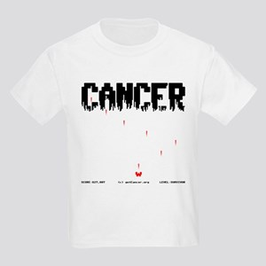 Game Over Cancer Kids Light T-Shirt