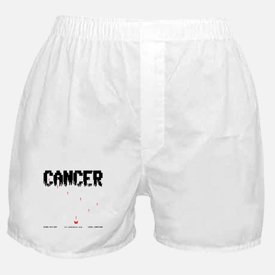 Game Over Cancer Boxer Shorts