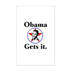 Obama Gets it Posters