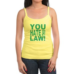 You Hate This Law! Jr.Spaghetti Strap