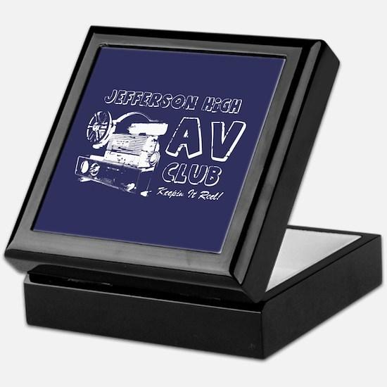 AV Club - Keepin It Reel! Keepsake Box