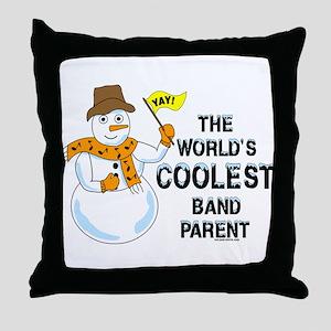 Coolest Parent Throw Pillow
