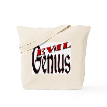 Evil Genius Tote Bag
