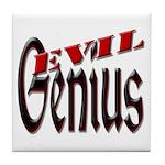 Evil Genius Tile Coaster