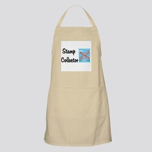 Stamp collector BBQ Apron