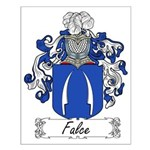 Falce Family Crest Small Poster
