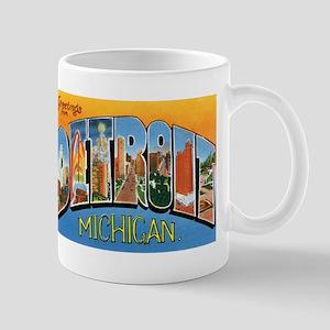 Detroit Michigan MI Mug