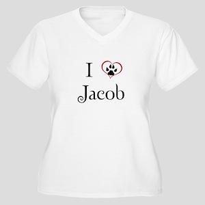 Love Jacob Twilight Women's Plus Size V-Neck T-Shi