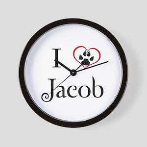 Love Jacob Twilight Wall Clock